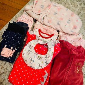 Huge baby girl 9 month bundle